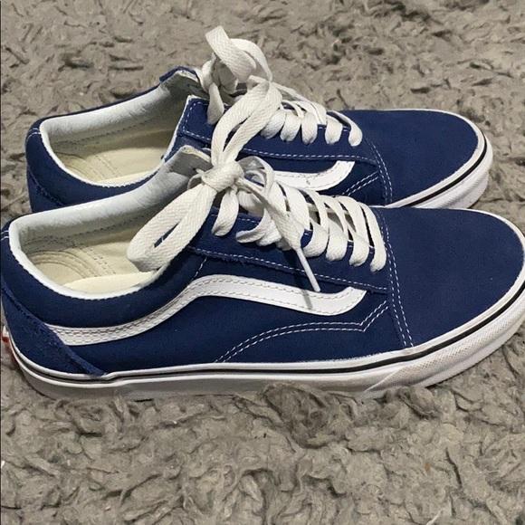 Vans Shoes | Vans Old Skool Dark Blue